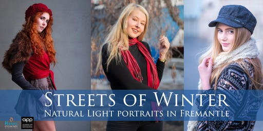 Streets of Winter: Natural Light Portraits in Fremantle (July 2019)