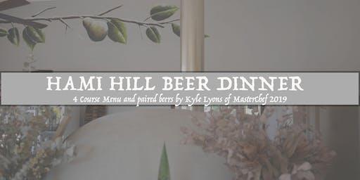 Hami Hill Beer Dinner
