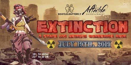 Extinction - 3 Stage Warehouse Party tickets