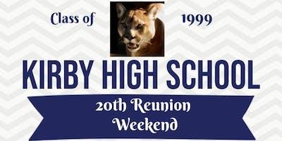 Kirby High School C/O 99 *20 Year Reunion* Weekend