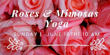 Roses & Mimosas Yoga tickets