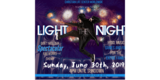 """CLCWW """"Light the Night"""" Fireworks Show"""