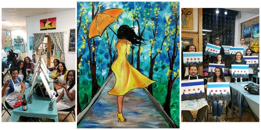 """BYOB Sip & Paint Event - """"Lady In Yellow"""""""