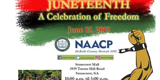 NAACP DeKalb - 2019 Juneteenth Celebration