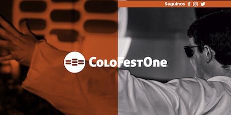 ColoFestOne 2019 entradas