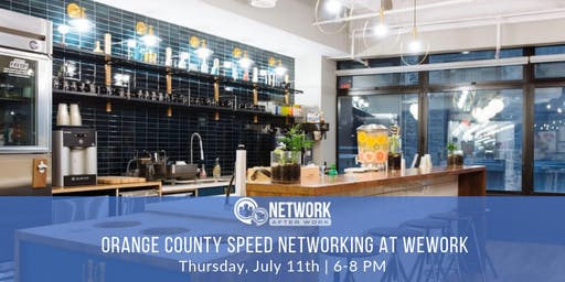 Pro Speed Networking by Network After Work Orange County