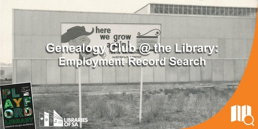 Genealogy Club: Employment Records Search