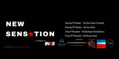 New Sensation / Shaved & Dangerous Live at the Burlington Hotel Bunbury