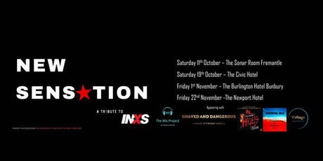 New Sensation / Shaved & Dangerous Live at the Burlington Hotel Bunbury tickets