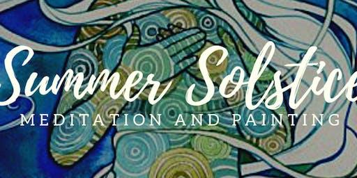 Summer Solstice Meditate & Paint : Workshop