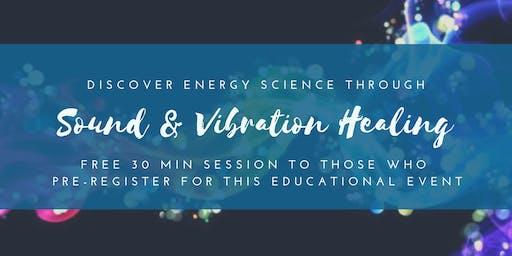 Energy Healing through Sound