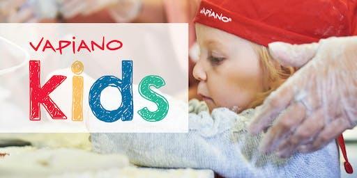 Vapiano Garden City Pizza Kids!
