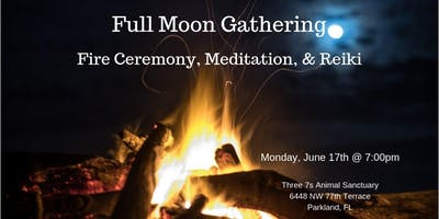 Full Moon Gathering: Fire Ceremony, Meditation, & Reiki
