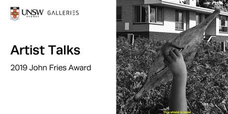 Opening Weekend Artist Talks: 2019 John Fries Award tickets