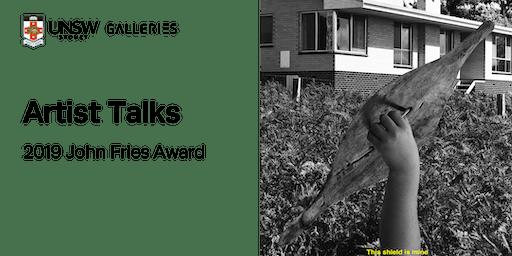 Opening Weekend Artist Talks: 2019 John Fries Award
