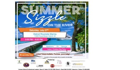 The Summer Sizzle on the River tickets