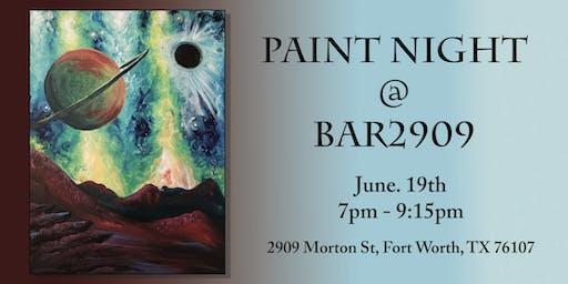 Paint Night at Bar 2909