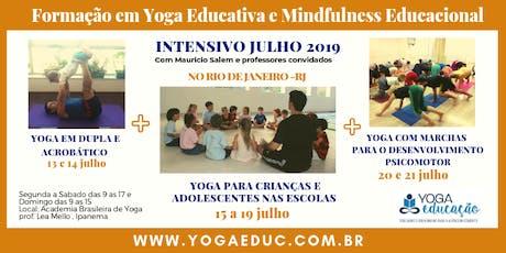 Formação em Yoga Educativa- Intensivo Julho de 2019 no Rio de Janeiro , RJ ingressos