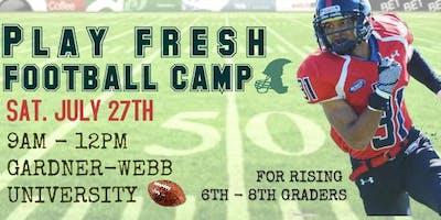 Play Fresh Football Camp 2019
