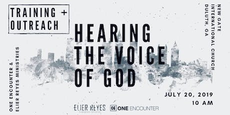 Hearing the Voice of God: Training + Outreach tickets
