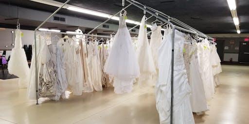 Pop up bridal shop