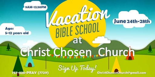 Vacation Bible School @ Christ Chosen Church