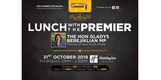 Luncheon with the Premier