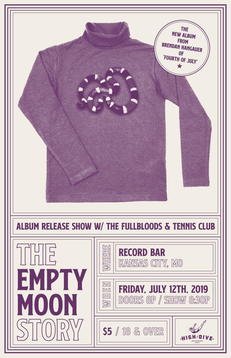 Empty Moon Record Release Party with Fullbloods and Tennis Club