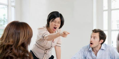 Master the Art & Psychology Behind Workplace Anger tickets