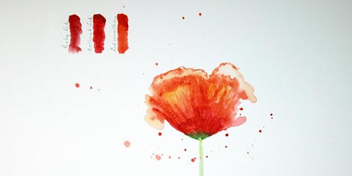 Watercolour Blossoms & Botanicals (Summer drop-in workshop)