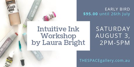 Intuitive Ink Workshop by Laura Bright tickets