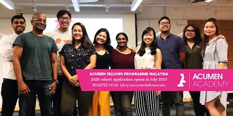 Acumen Fellows Programme Malaysia: Penang Info Session tickets