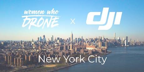 Women Who Drone + DJI Summer Meet-Up tickets
