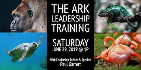 The Ark Leadership Training tickets