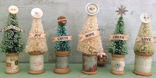 Bottle Brush Tree Decor AM Class 2019