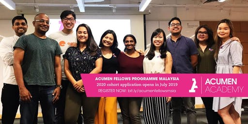 Acumen Fellows Programme Malaysia: KL Info Session