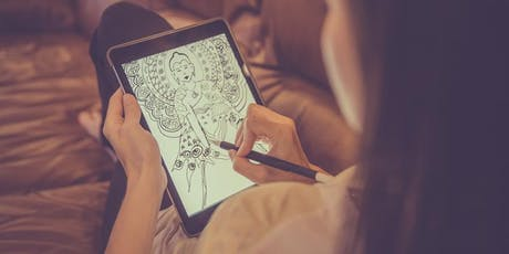 iPad Drawing with Rebecca Jones - 3 week intensive  tickets