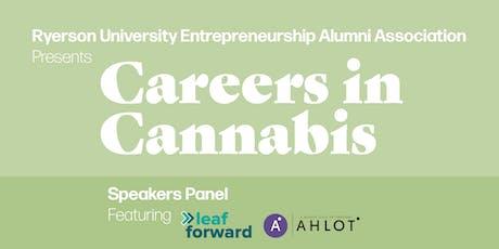 Careers In Cannabis 2019 - Speaker Panel tickets