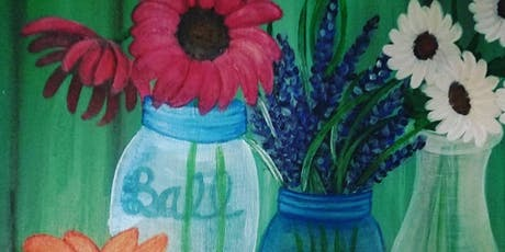 Country Flowers in a Jar tickets