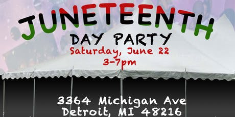 JUNETEENTH DAY PARTY tickets