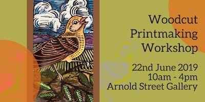 Woodcut Printmaking Workshop