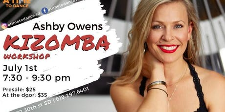 Kizomba Workshop with Ashby! tickets