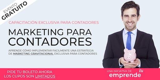 Marketing para Contadores: Como obtener clientes nuevos cada semana.