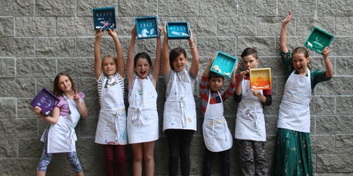 Morning Summer Fine Art Camp, Ages 9-12 (Week 3: August 19-23)