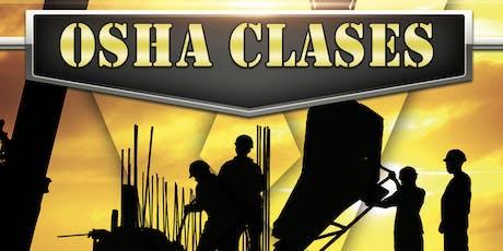 OSHA 30 (Registración Gratis) en Español en las tardes de Lunes a Sábado  tickets