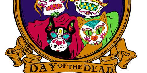 2019 Day of the Dead 1 Mile, 5K, 10K, 13.1, 26.2 - Raleigh