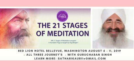 21 Stages of Meditation with Gurucharan tickets