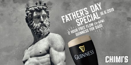 Father's Day Special: Free Flow Guinness tickets