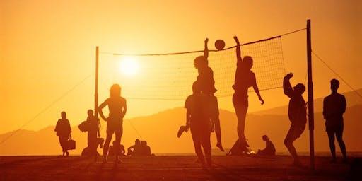Volleyball Fun in the Sun!