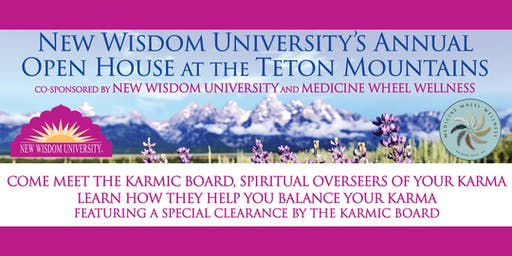 New Wisdom University's Annual Open House